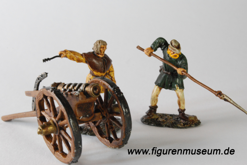 Bauernkrieg 40 mm Figuren Doug Miller