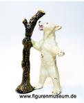 Eisbär Lineol Tier Masse Antik